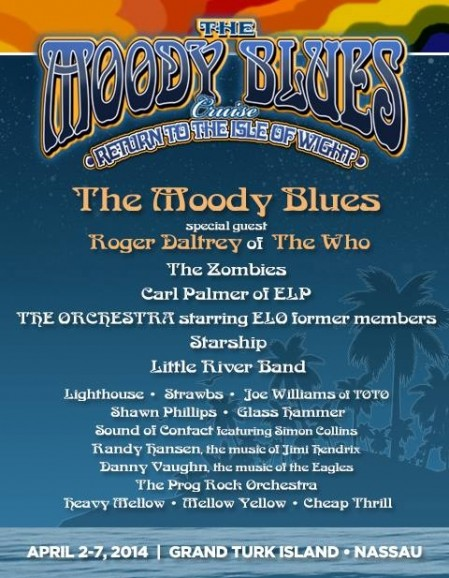 Starship on the Moody Blues Cruise | | John Roth dot com