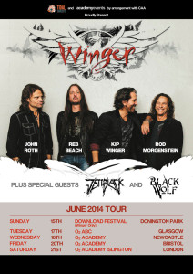 Winger UK tour
